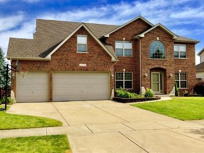 Plainfield Single Family Home Price Change: 24710 Hanover Court