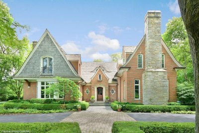 Lake Forest Single Family Home For Sale: 150 West Onwentsia Road