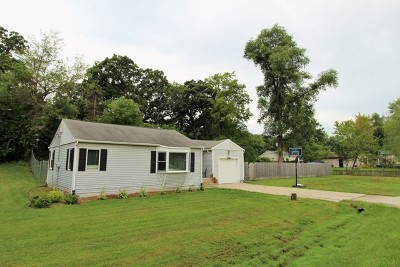 McHenry Single Family Home Re-Activated: 5605 Acorn Lane