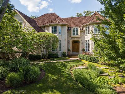 Burr Ridge Single Family Home For Sale: 8626 Timber Ridge Drive