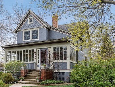 Wilmette Single Family Home For Sale: 825 Greenleaf Avenue