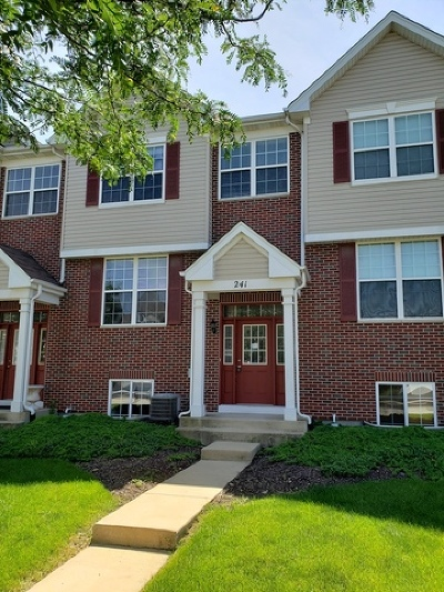 Romeoville Condo/Townhouse For Sale: 241 South Oak Creek Lane #241