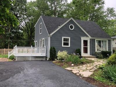 Barrington Single Family Home Price Change: 28537 West Lindbergh Drive