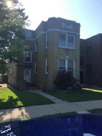 Skokie Multi Family Home For Sale: 7904 Karlov Avenue