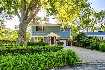 Wilmette Single Family Home For Sale: 928 Cambridge Lane