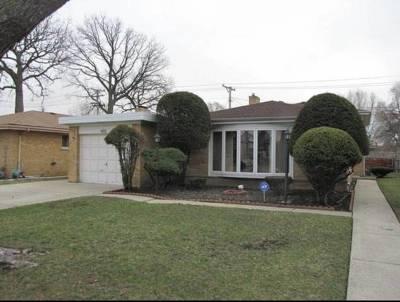 Lincolnwood Single Family Home For Sale: 4105 West Pratt Avenue