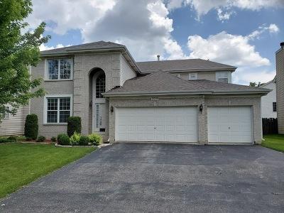 Streamwood Single Family Home Price Change: 309 Merry Oaks Road