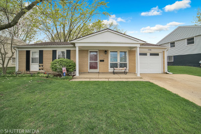 Streamwood Single Family Home For Sale: 306 Evans Court
