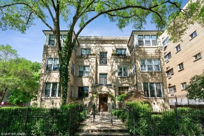 Condo/Townhouse For Sale: 6702 North Sheridan Road #2N