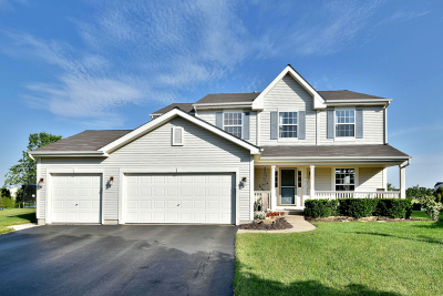 Plainfield Single Family Home Contingent: 2124 Stafford Court