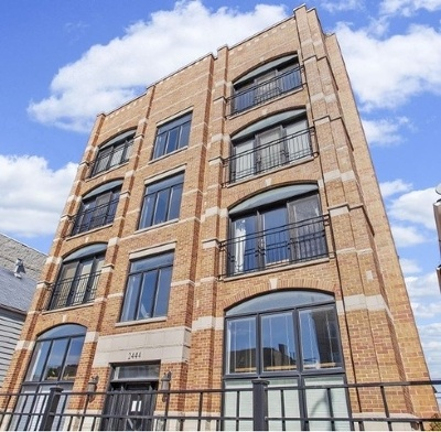 Condo/Townhouse For Sale: 2444 West Diversey Avenue #1W