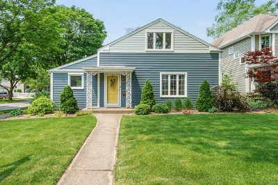 Downers Grove Single Family Home For Sale: 4644 Saratoga Avenue