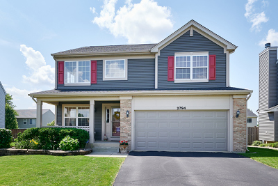 Aurora Single Family Home Price Change: 2794 Rosehall Lane