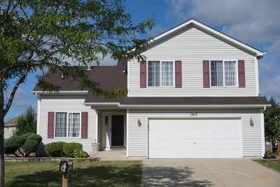 Plainfield Single Family Home For Sale: 1417 Major Drive