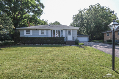 Downers Grove Single Family Home Price Change: 4633 Roslyn Road