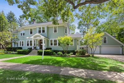 Wheaton Single Family Home For Sale: 718 East Liberty Drive