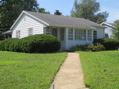 Bloomington Single Family Home Re-Activated: 114 Maizefield Avenue