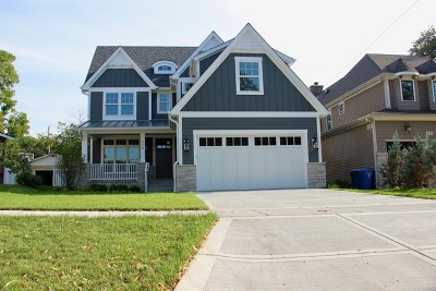 Downers Grove Single Family Home For Sale: 529 Franklin Street
