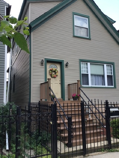 Single Family Home For Sale: 2553 West Cortland Street