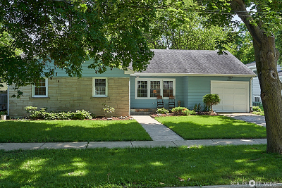 Aurora Single Family Home For Sale: 1344 Park Manor