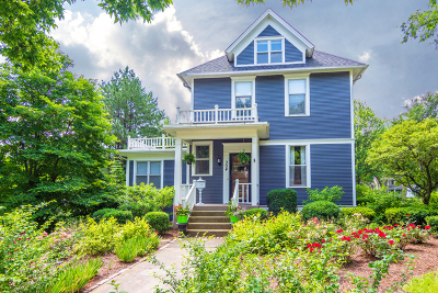 Hinsdale Single Family Home Price Change: 304 East Chicago Avenue