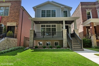Single Family Home Price Change: 4228 North Wolcott Avenue