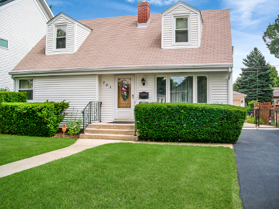 Elmhurst Single Family Home Price Change: 701 South Spring Road