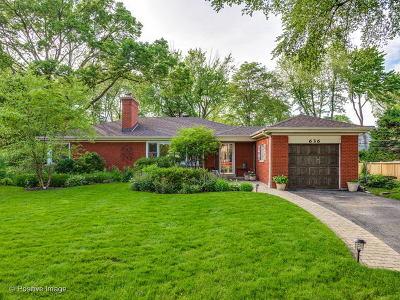 Glenview Single Family Home For Sale: 636 Garden Court