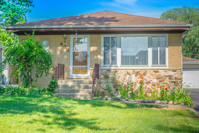 Wood Dale Single Family Home For Sale: 433 North Elmwood Avenue