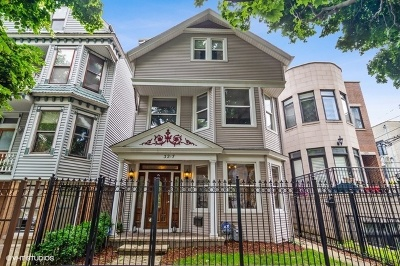 Roscoe Village Single Family Home For Sale: 3217 North Hoyne Avenue