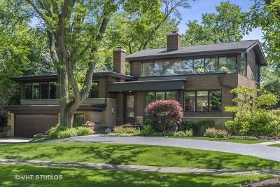 Glencoe Single Family Home Price Change: 885 Oak Drive