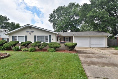 North Aurora Single Family Home For Sale: 20 Hawthorne Drive