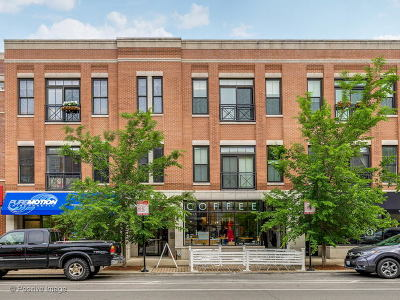 Roscoe Village Condo/Townhouse For Sale: 2144 West Roscoe Street #2A