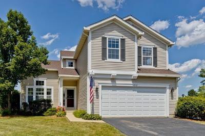 Mundelein Single Family Home Price Change: 1012 Wrens Gate