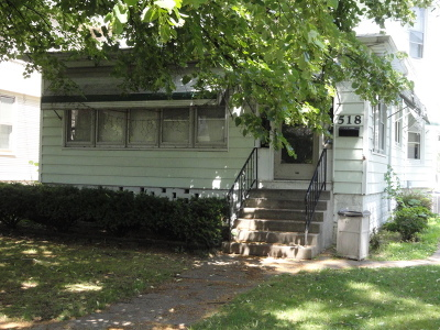 Kankakee Single Family Home For Sale: 518 South Indiana Avenue