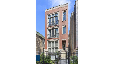 Condo/Townhouse For Sale: 1055 North Hermitage Avenue #3