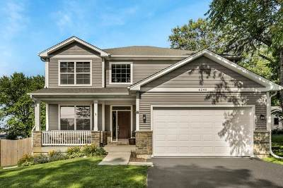Downers Grove Single Family Home For Sale: 6240 Dunham Road