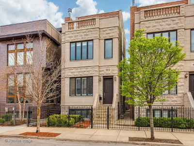 Chicago Single Family Home For Sale: 1853 West Race Avenue