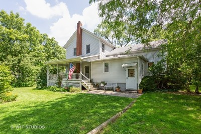 Frankfort Single Family Home For Sale: 7840 West Steger Road