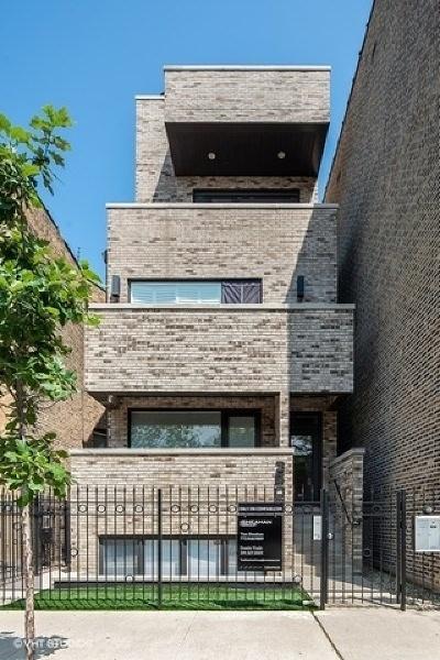 Chicago Condo/Townhouse New: 3505 North Seminary Avenue #3