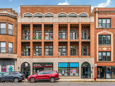 Condo/Townhouse For Sale: 1414 West Irving Park Road #2E