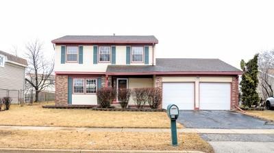 Glendale Heights Single Family Home For Sale: 181 West Stevenson Drive