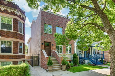 Chicago Single Family Home For Sale: 3839 North Christiana Avenue