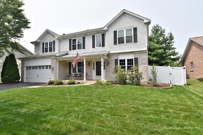 Aurora Single Family Home For Sale: 1318 Deerpath Circle
