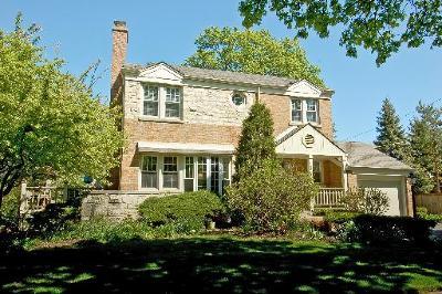 Glenview Single Family Home For Sale: 1842 Colfax Avenue