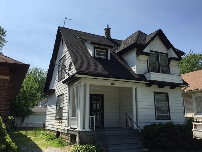 Chicago Single Family Home For Sale: 11228 South Eggleston Avenue South