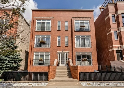 Condo/Townhouse For Sale: 1712 West Diversey Parkway #2