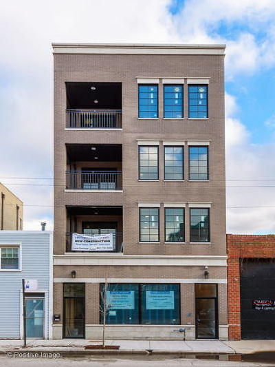 Chicago Condo/Townhouse For Sale: 2309 West Belmont Avenue #4