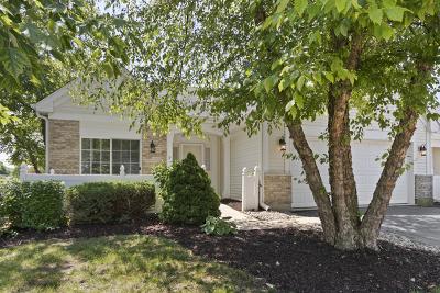 Plainfield Condo/Townhouse For Sale: 21309 West Crimson Court