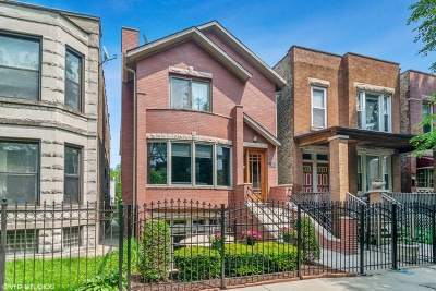 Single Family Home For Sale: 2627 North Richmond Street